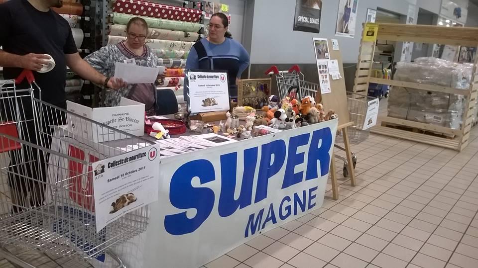 Collecte Super U Magné
